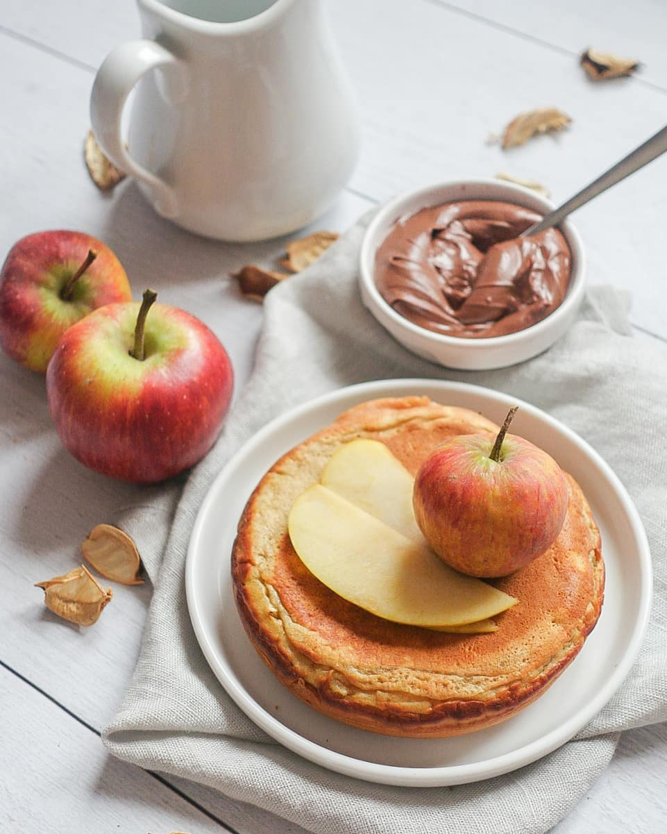 pancakes à la pomme d'automne