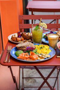 Table brunch Paris Kaf Kaf