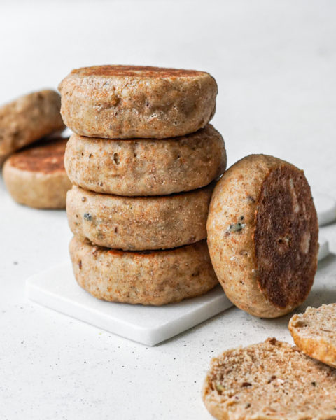 Muffins anglais à la farine semi-complète