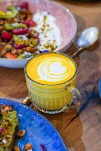 Latte brunch paris