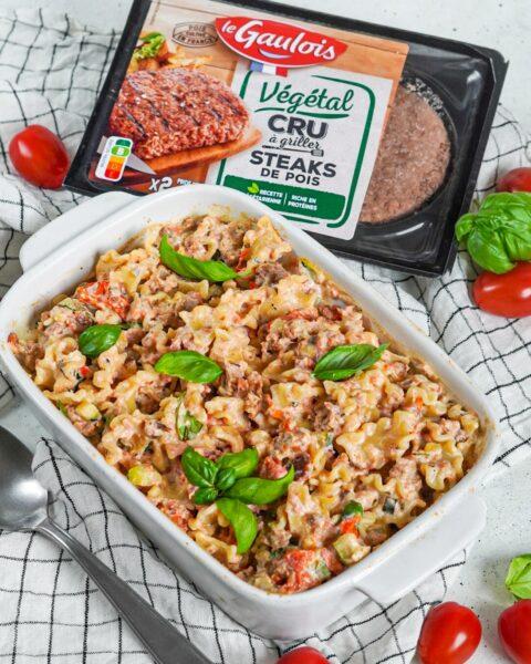 Recette veggie fêta pasta